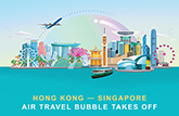 Designated flights under HK-Singapore Air Travel Bubble to begin on 26 May